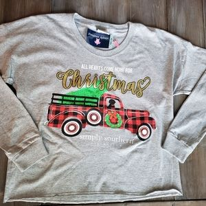 New Simply Southern Christmas Long Sleeve